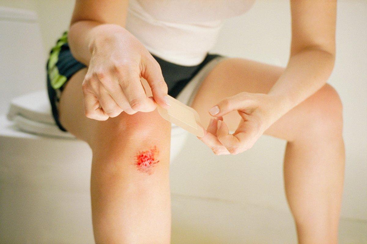 Как заживить быстрее рану?