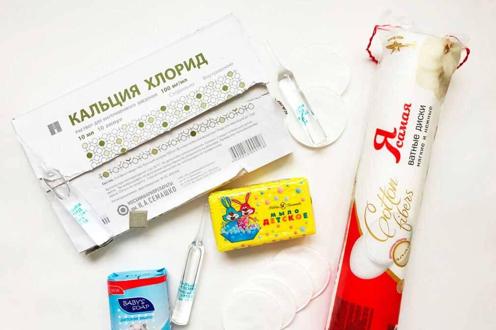 Хлорид кальция — пилинг для лица